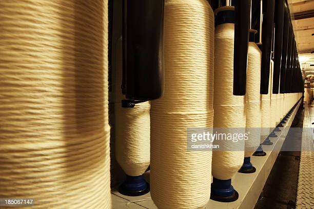 Textile Industry - Spinning Cotton into Yarn XXXL