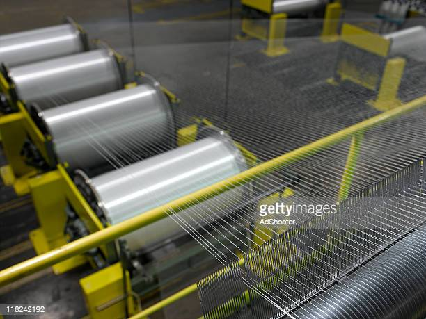 textile mill - nylon stock photos and pictures