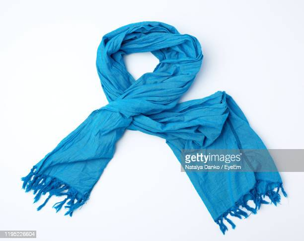 textile on white background - scarf stock pictures, royalty-free photos & images
