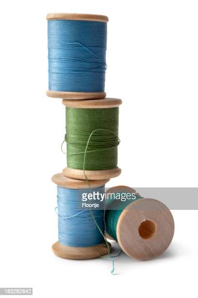 Textile: Spools and Sewing Thread