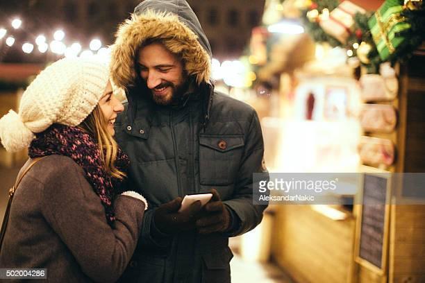 SMS über schöne Weihnachten Momente