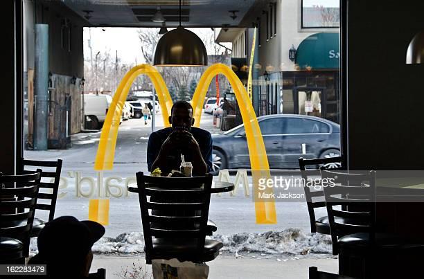 CONTENT] Texting at a McDonald's restaurant