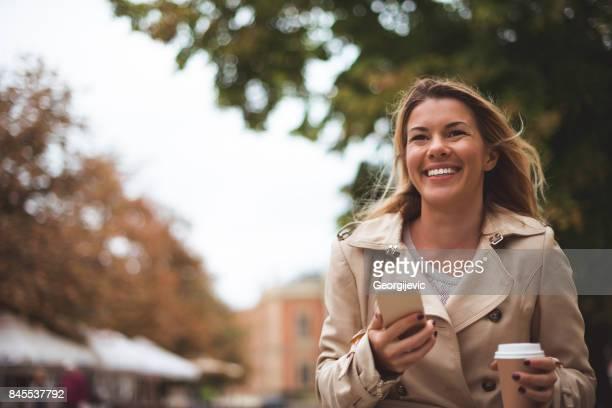 SMS in de stad