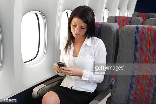 Texting On Airplane