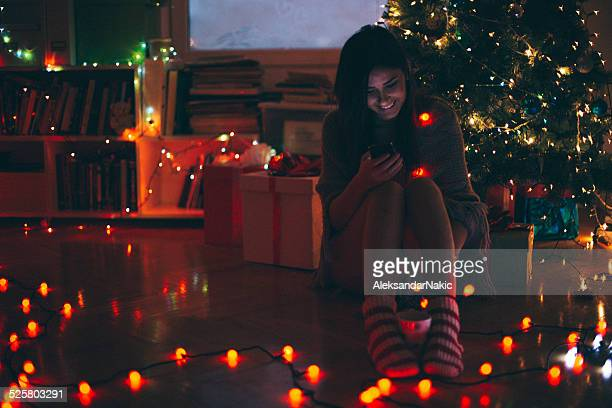 SMS an Heiligabend