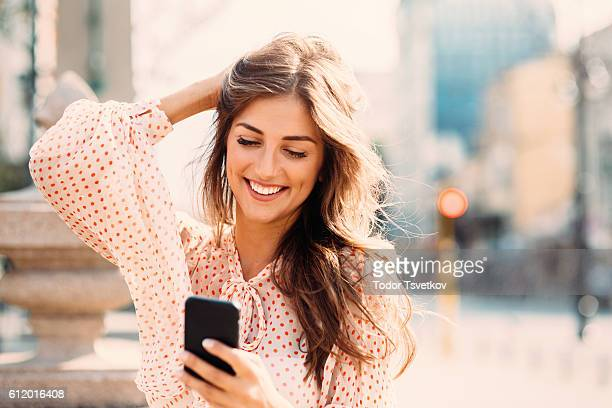 SMS sur le téléphone