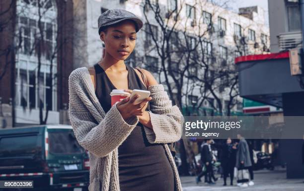 Texting on the street