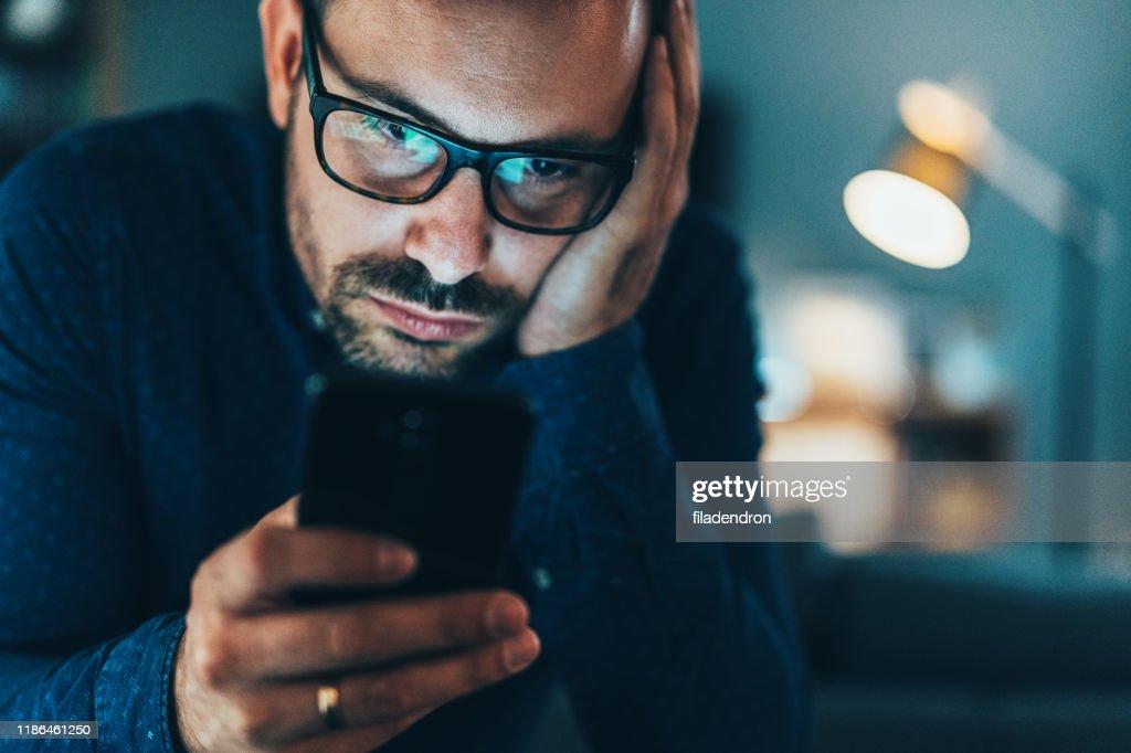 Texting : Stock Photo