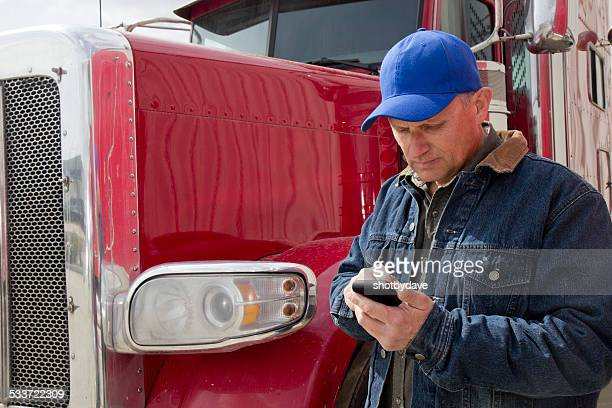 Texting Truck Driver