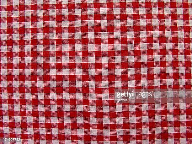 texture- checked fabric