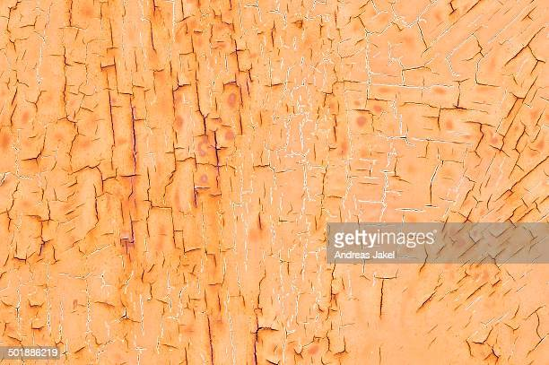 texture, metal with flaking paint - rust colored stock photos and pictures