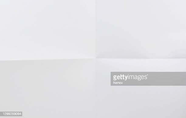 texture of crumpled white paper background - paper stock pictures, royalty-free photos & images