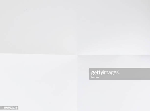 texture of crumpled white paper - document photos et images de collection
