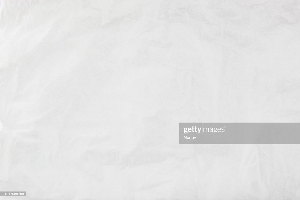 Texture Of Crumpled White Paper : Stock Photo