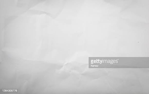 texture of crumpled white paper - news not politics stock pictures, royalty-free photos & images