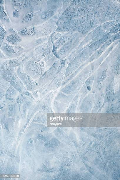 Texture de glace