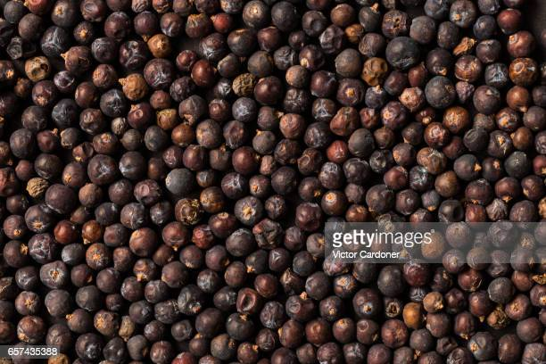 Texture of juniper berries