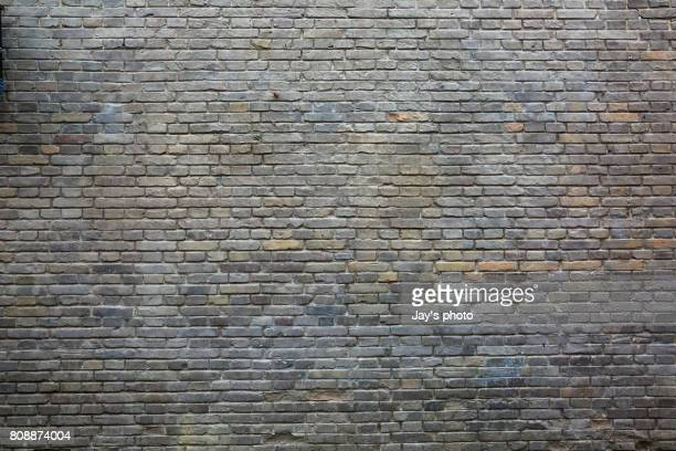 texture of real wall - brick wall stock pictures, royalty-free photos & images