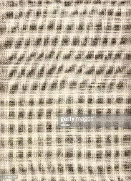 Texture of rough, natural burlap linen canvas