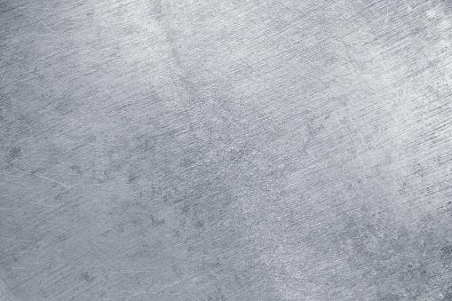 Texture of tinplate, silver metal as background 1149896509