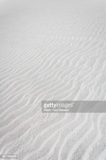 Texture of white sand