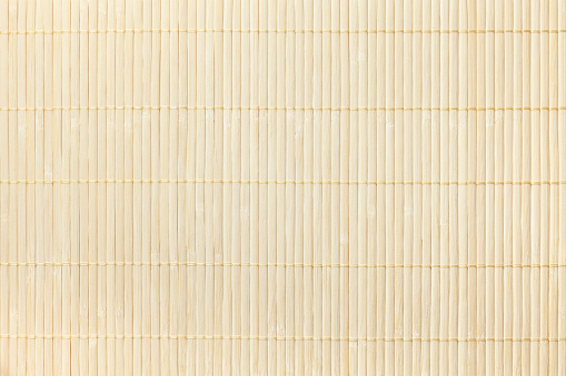 Texture of wooden  Bamboo traditional napkin for a table. 583718826