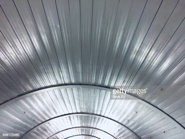 Texture. Silver tunnel
