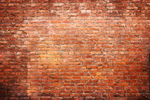 texture vintage brick wall, background red stone urban surface 802915128