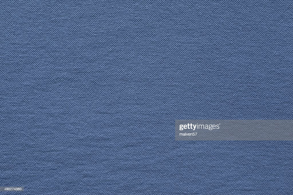 Textured Background Fabric Of Silvery Blue Color Stock Photo
