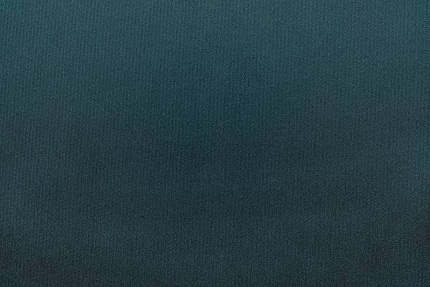Textured Background From Textile Fabric Of Dark Turquoise Color