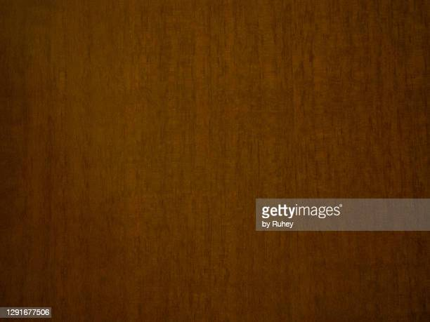 textured background of a varnished wooden door - チーク ストックフォトと画像