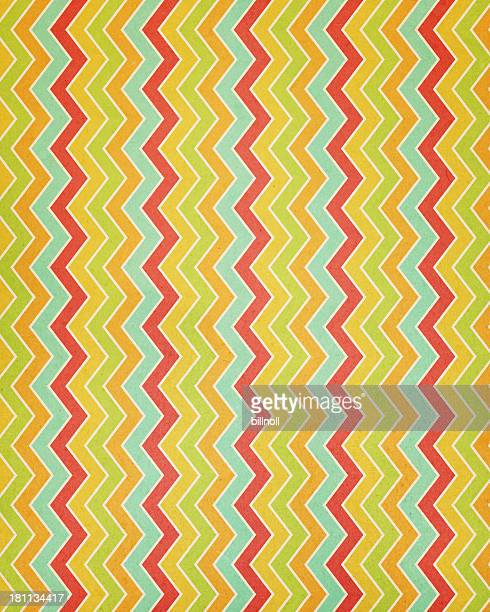 textured paper with chevron stripes