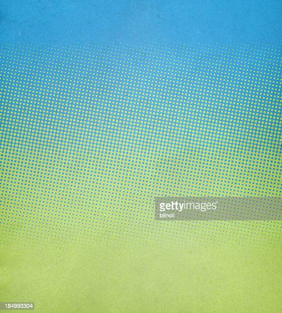 textured paper with spring colors and halftone - spotted stock pictures, royalty-free photos & images