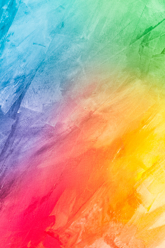 Textured rainbow painted background 801444286