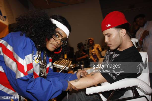Teyana Taylor and Avery Storm attend RapUp Magazine 3rd Anniversary Celebration and Release of RapUp The Ultimate Guide To HipHop and RB April 17...