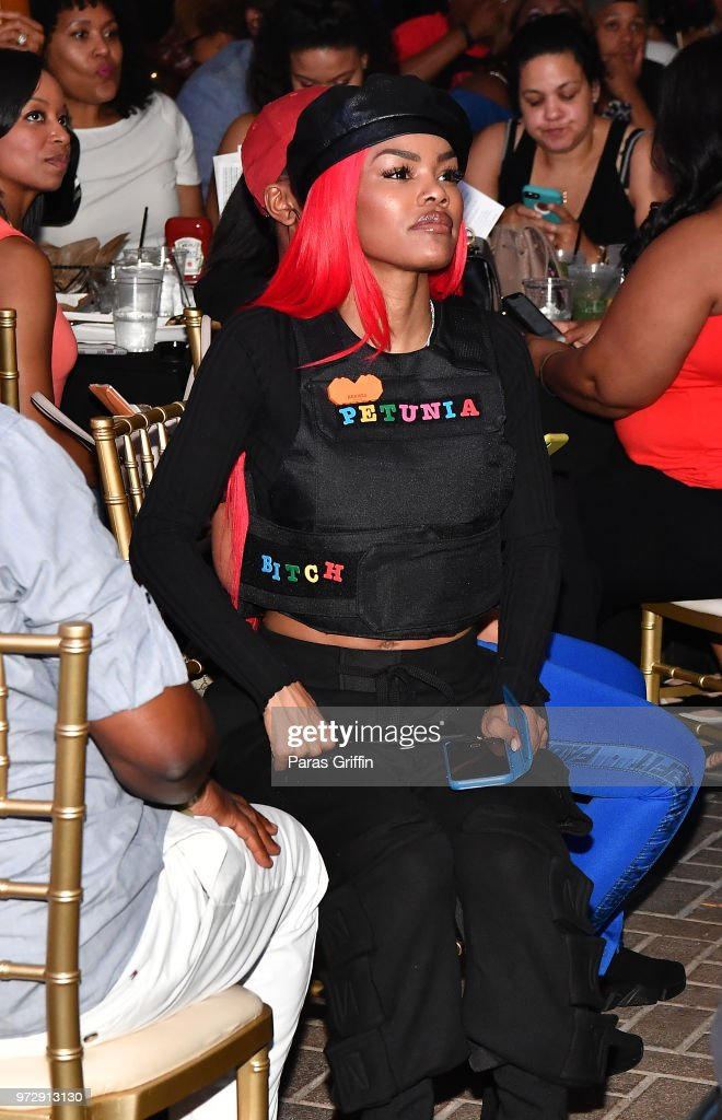 Teyana Taylor attends ATL Live On The Park at Park Tavern on June 12, 2018 in Atlanta, Georgia.