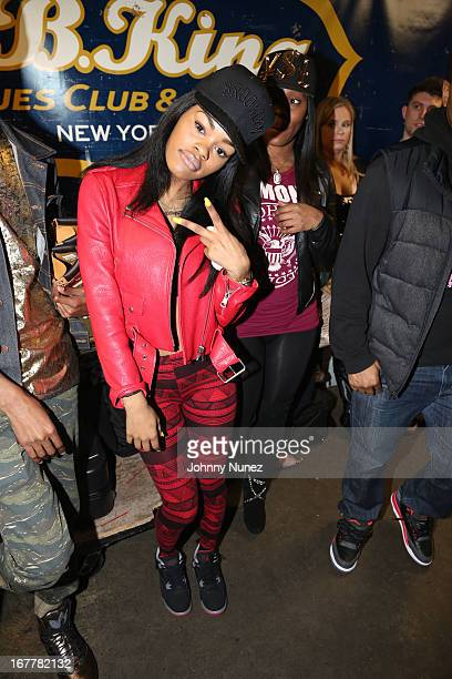 Teyana Taylor attends Fabolous Pusha T in concert at BB King Blues Club Grill on April 29 2013 in New York City