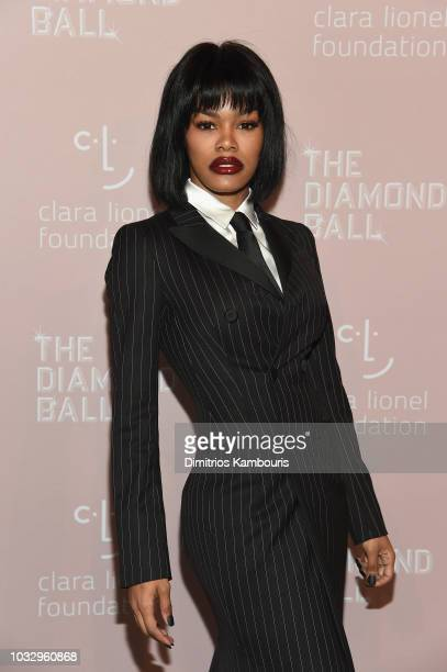 Teyana Taylor attends Rihanna's 4th Annual Diamond Ball benefitting The Clara Lionel Foundation at Cipriani Wall Street on September 13 2018 in New...