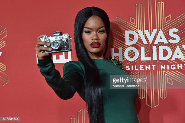 Teyana Taylor attends the 2016 VH1's Divas Holiday: Unsilent Night at Kings Theatre on December 2, 2016 in New York City.