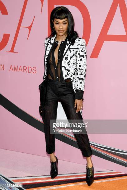 Teyana Taylor attends the CFDA Fashion Awards at the Brooklyn Museum of Art on June 03 2019 in New York City
