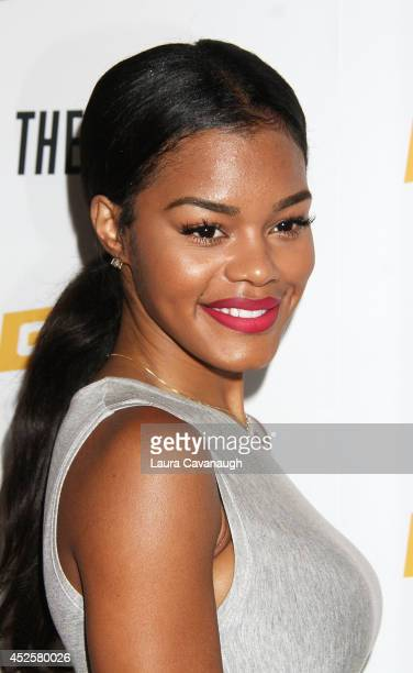 Teyana Taylor attends 'The Knick' special screening at The New York Academy Of Medicine on July 23 2014 in New York City