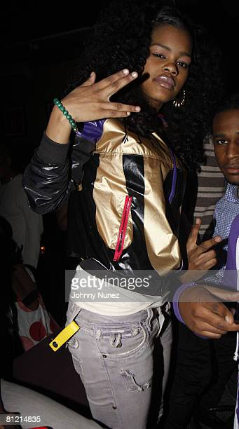Teyana Taylor attends Vaughn Anthony's Birthday Bash Hosted by John Legend on May 22 2008 in New York City