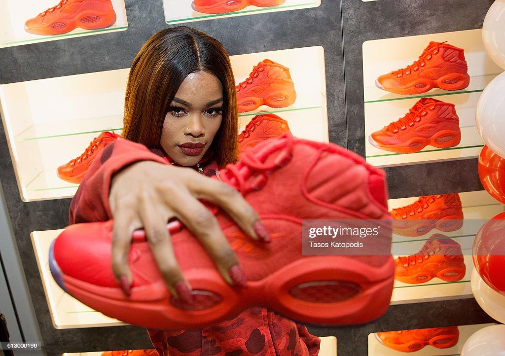 "Teyana Taylor Launches Her Reebok Question Mid ""Teyana T"" Sneaker At Villa"