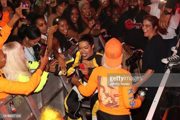 Teyana Taylor performs at PlayStation Theater on August 13 2018 in New York City