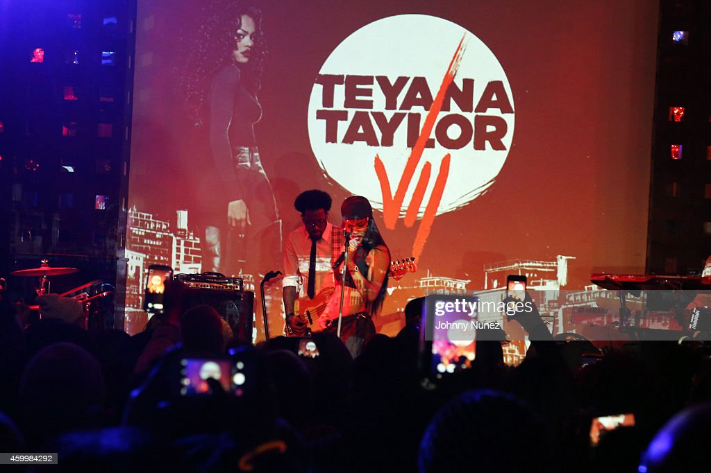 Teyana Taylor performs at SOB's on December 4, 2014, in New York City.