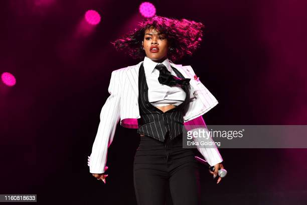 Teyana Taylor performs during the 2019 ESSENCE Festival at the Mercedes-Benz Superdome on July 07, 2019 in New Orleans, Louisiana.
