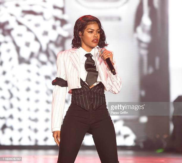 Teyana Taylor performs onstage during 2019 ESSENCE Festival at Louisiana Superdome on July 7, 2019 in New Orleans, Louisiana.
