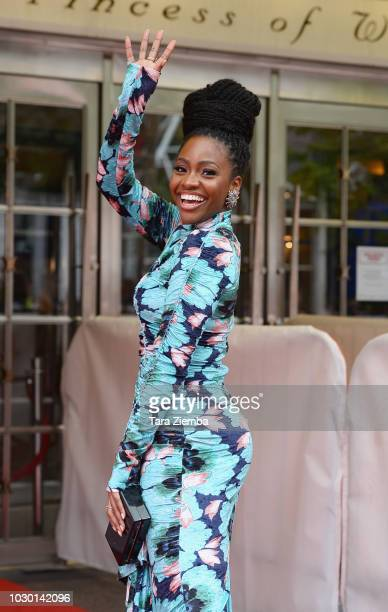 Teyonah Parris attends the 'If Beale Street Could Talk' premiere during 2018 Toronto International Film Festival at Princess of Wales Theatre on...