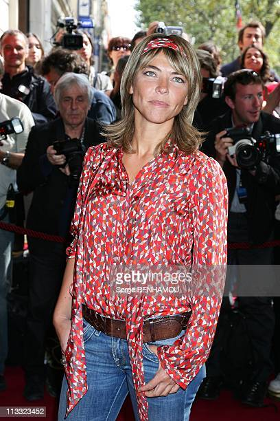 Tf1 Press Conference At The Olympia In Paris France On August 29 2007 Nathalie Vincent