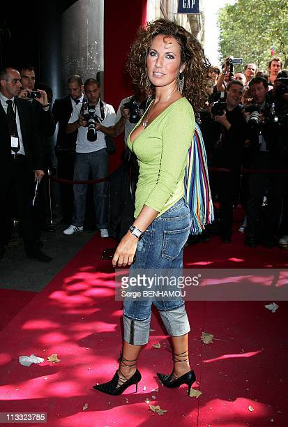 Tf1 Press Conference At The Olympia In Paris France On August 29 2007 Natacha Amal